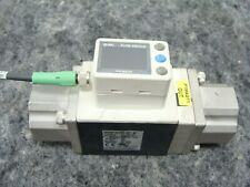 "SMC Digital Water Flow Switch PF3W711-F10-BT-M 10-100 l/mn 1"" F Ports PF3W711"