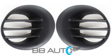 NEW FRONT BUMPER FOG LIGHT COVERS GRILLES SET L&R FOR 02-08 DODGE RAM 1500 TRUCK