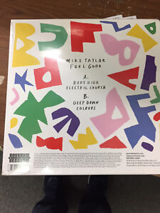 "Mike Taylor FEEL GOOD +Stickers RSD 2017 New Sealed Vinyl Picture Disc 12"" EP"
