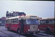 U54 - Dia slide original 35 mm bus autobus touringcar: NMBS Bus Leuven 1971