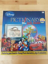 Disney Pictionary DVD Game Mattel Family Quick Draw Pixar Animation Game