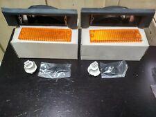 BMW E30 turn signal lights Euro L+R !NEW! 63131372683 63131372684