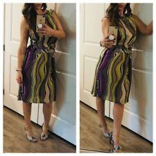 Hugo Boss Cocktail Silk Dress/ Size 8/NWOT