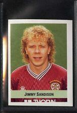 (gq505-407), SUN, CALCIO ADESIVO 90-91, # 357 Jimmy Sandison, CUORI 1990 EX