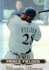 "2011 ""TOPPS""  TRIBUTE   #86   PRINCE FIELDER"