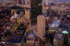 526069 City At Twilight A4 Photo Print