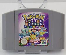 Nintendo 64 - N64 Spiel Modul - Pokemon Stadium + Pokemon Puzzle League