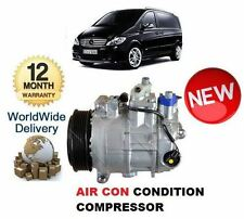 FOR MERCEDES VITO 109 110 111 113 CDi 2003> AC AIR CON CONDITIONING COMPRESSOR