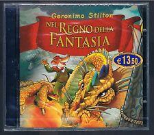 GERONIMO STILTON NEL REGNO DELLA FANTASIA CD SIGILLATO!!!