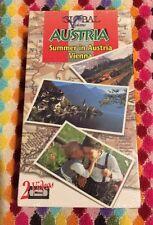 ❤️Global Visions Austria Summer In Austria Vienna Sealed 2 Videos VHS NEW