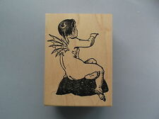100 PROOF PRESS RUBBER STAMPS FISH BOY NEW STAMP