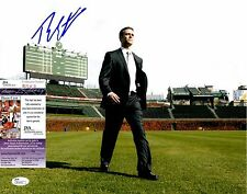 Theo Epstein Signed 11x14 Photo w/ JSA COA #R76400 Chicago Cubs