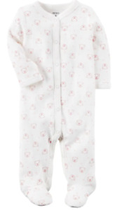 Carter's Baby Infant Snap-Up Cotton Sleep & Play One Piece Footies Size 3m