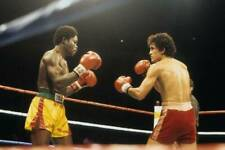 Old Boxing Photo Salvador Sanchez Looks To Land A Punch Against Azumah Nelson