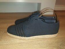 BRANDNEU DAMEN DESIGNER Marks & Spencers Canvas Sommer Schuhe UK 5 RRP £ 35.00