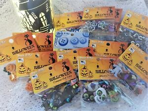 Dress It Up Buttons - HALLOWEEN & SCARY Ghost Spooky Bat Witch Spider *SEE OFFER