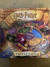 HARRY POTTER PHILOSOPHERS STONE TRIVIA GAME MATTEL 2000