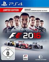 F1 2016 - Limited Edition (Sony PlayStation 4, 2016)