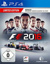 Limited Edition PC - & Videospiele F1 2016