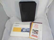 SAAB 92X 2004 04 Owners Manual Set Case Guide Handbook Book OEM Free Shipping