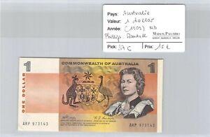 Billet AUSTRALIE - 1 dollar ND(1969) - Phillips - Randall - Pick 37 C - ARP97