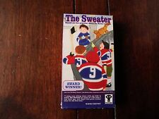 THE SWEATER  (HABS LEAFS HOCKEY NHL) vhs NFB of Canada Animated Famous Short