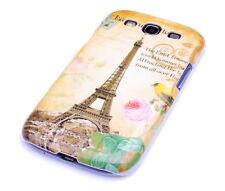 Schutzhülle f Samsung Galaxy S3 i9300 Tasche Cover Case Paris Eiffelturm Fra