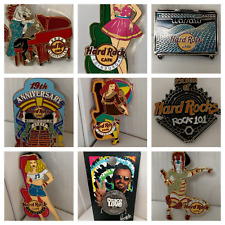 Hard Rock Rare Pins Collection Staff Manager Training Love All Serve All *Select