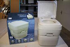 Heng's Portable Porta Potti Potty 5 Gallon Tan Toilet 2202