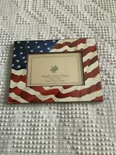 Maple Lane Press 3x5 4x6 Paperboard Frame New In package American Flag Patroiti