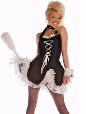 MAID TO TEASE HALLOWEEN COSTUME TEEN OR X SMALL WOMEN 2 - 4