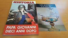 Rivista HISTORIA Giugno 1973 N 186 Papa Giovanni XXIII Cancelliere Hitler Chaco