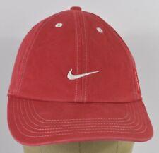 c84adb51 Красный логотип Nike Swoosh просто сделай это вышитые бейсболка  регулируемый ремень