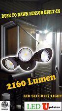 LEDUPDATES Dusk to Dawn Outdoor Wall Pack Security LED Flood light 30w 2160Lumen