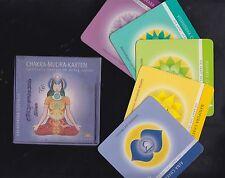 CHAKRA-MUDRA-Karten -  Spirituelle Energie im Alltag - ohne Begleitheft!