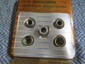 NEW 2000 - 2007 FORD FOCUS AND SVT FOCUS ANTI THEFT WHEEL LOCKS SET KIT