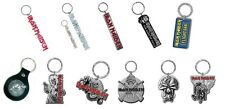 Iron Maiden Keyring Keychain Book of Souls Eddie Band Logo Killers New Official