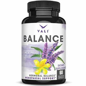 Menopause Relief Supplement for Women - Herbal Hormone Balance Pills for Hot ...
