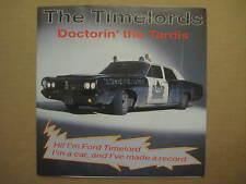 "THE TIMELORDS Doctorin' The Tardis AUSSIE 7"" 1988 - 104919 - POSSUM LABEL - KLF"