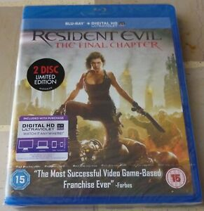 Resident Evil, The Final Chapter, 2 blu-ray discs Limited Edition, ediz. inglese