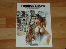 ICOM: P.E.Serpieri Morbus Gravis Zensur-Dokumentation, SC, Erotik, ungelesen
