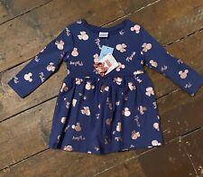 Minnie Mouse Dress 12-18 Months Disney New Long Sleeves Matalan
