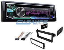 JVC BLUETOOTH CAR STEREO RADIO CD PLAYER SIRIUS XM W/ COMPLETE INSTALLATION KIT