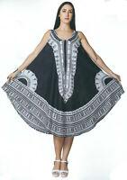 Hippie Lagenlook Tunic Top Dress Boho Beach Kaftan Size 18 20 22 24 26 28 30 BMW