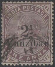 ZANZIBAR QV Scott 20 SG25 Mint Hinged