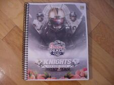 2018 Central Florida Knights/UCF Chick-fil-A Peach Bowl Media Guide-Perfect