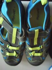 Faded Glory Boys Casual Sandals Pull On  Size 4 NWOT  Summer Shoe