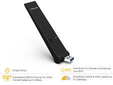 Dongle Wi-Fi USB3.0 Wifi Wavlink AC1300 Mbps, adattatore USB con pulsante WPS