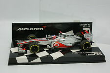 Minichamps 1/43 - F1 Vodafone Mercedes McLaren MP4-27 Button 2012