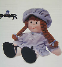 Little Miss Muffet y su araña, Muñeca De Trapo patrón de costura
